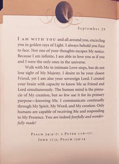 Good morning That first sentence ... Wow! I could feel it! Hope y'all have a blessed day ~