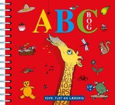 ABC bok til lek og læring.   Boken forklarer en bokstav per side med morsomme tegninger, som alle begynner med bokstaven. Konsonanter og vokaler har hver sin farge. Boken supplerer ABC plakaten som benytter de samme tegningene.   Barnene lærer å kjenne igjen bokstaver og ord ved hjelp av tegninger av dyr og ting som de gjenkjenner. Boken kan brukes som pekebok for de aller minste, for å trene gjenkjennelse av bokstavene og figurene.