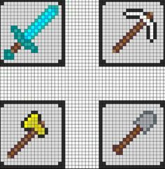 Minecraft cross stitch