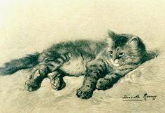 A      Kitten                      1896                    Henriëtte      RONNER  -  KNIP Dutch,            oil     on     panel,              Teylers     Museum,              Haarlem,      Netherlands