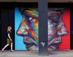 by David Walker - New mural for Urban Nation - Berlin, Germany - 09.08.2014