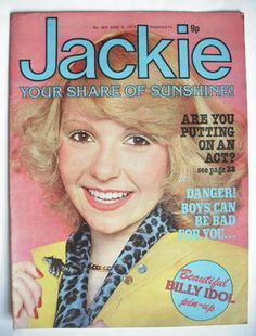 Jackie magazine, you couldnt live without this as a teenager!