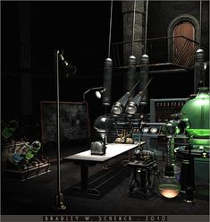 Mad Scientist Computer Lab