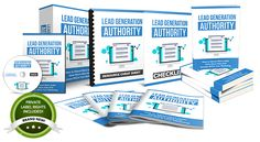 Sizzling New IM Opportunity:  Lead Generation Authority PLR - Done-For-You PLR Package