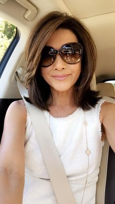 Charming Hairstyles for Mid-Length Hair for Summer 2019 - Page 10 of 20 - Fashion hair styles for medium length hair Charming Hairstyles for Mid-Length Hair for Summer 2019 - Page 10 of 20 Medium Hair Cuts, Short Hair Cuts, Medium Hair Styles, Curly Hair Styles, Medium Layered Hair, Shoulder Length Hair, Great Hair, Hair Dos, Bob Hairstyles