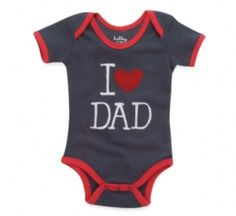 onesies for babies daddy | Fathers Day Gifts | I Love Dad Baby Clothes