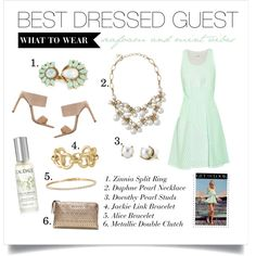 Best Dressed Guest by stelladot on Polyvore featuring 3.1 Phillip Lim, Stuart Weitzman, Stella & Dot and Caudalie