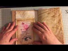 Part 3 Lets make a journal pockets & tuck spots #junkjournaljunkies - YouTube