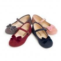 0a43322d Las 11 mejores imágenes de Zapatos niñas merceditas serraje   Shoes ...