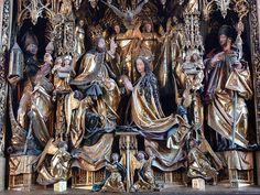 Michael Pacher, Sankt Wolfgang Kirche - Pacheraltar Schrein 1 - Pacher-Altar (St. Wolfgang)