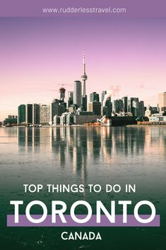 Top things to do in Toronto, Canada in 2 days! From the CN Tower to Downtown Toronto to Toronto photography there is a ton to do in this amazing big city. #Toronto #Travel #Canada #NorthAmerica Toronto Nightlife, Toronto City, Toronto Travel, Downtown Toronto, Toronto Canada, Canadian Travel, European Travel, Hockey Hall Of Fame, Toronto Photography