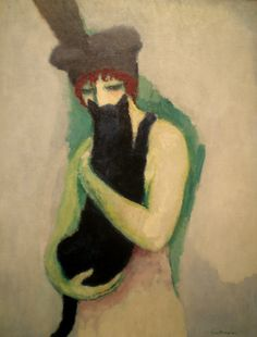 Kees van Dongen 'Woman with Cat', 1908, Milwaukee Museum of Art