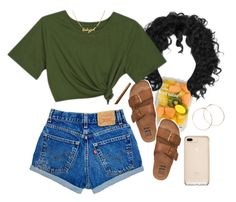 by daisym0nste on Polyvore featuring Billabong, Jennifer Creel and FRUIT