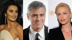 Art for Charity's Sake: Clooney, Cruz and Theron Design for Good