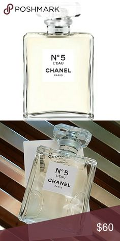 CHANEL NO5 L'EAU EDT 3.4OZ TESTER **BRAND NEW AUTHENTIC TESTER**  A modern, fresh and vibrant embodiment of the now and forever scent. Timeless and audacious, simple and sophisticated. N°5 L'EAU is the N°5 of today. Composed by CHANEL perfumer Olivier Polge, N°5 L'EAU features dynamic, crisp top notes of lemon, mandarin and orange that reveal lightheartedness and transparency. CHANEL Makeup
