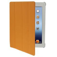 Deksel og stativ med bakbeskyttelse og Smart Cover til din iPad 2 eller iPad 3 - dette smarte etuiet passer til begge to. Dekselet dekker framsiden, baksiden og kantene på din iPad og beskytter den mot slag og riper. En elegant og god beskyttelse, som forlenger levetiden til din iPad.