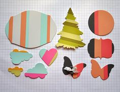 How to Color Block with dies using both negative and positive space by Maile Belles  (122211)