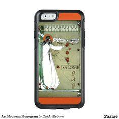 Art Nouveau Monogram OtterBox iPhone 6/6s Case
