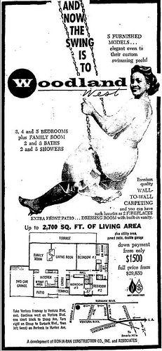 Woodland West, Woodland Hills, CA, Modern Floor Plans, House Floor Plans, Keller Williams, Modern Homes, Mid-century Modern, Woodland Hills California, Vintage House Plans, Bob Hope, San Fernando Valley