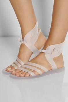 NIB Ancient Greek Sandals Winged Ikaria Rubber Jellies Clear Shopbop