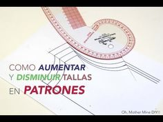 Cómo aumentar o disminuir tallas en los patrones. Clase costura 14 :D | Manualidades Sewing Tools, Sewing Hacks, Sewing Projects, Clothing Patterns, Sewing Patterns, Leaf Template, Sewing Lessons, Pattern Drafting, Love Sewing