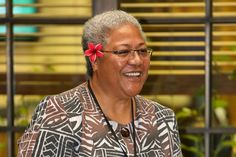 Fiame Naomi Mata'afa. As a Samoan high chiefess, Mata'afa is currently the country's Minister of Women, Community & Social Development. She is the first woman to hold a position in Samoa's Cabinet and is one of the longest serving members of Parliament.