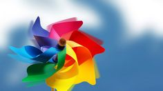 Fondo de Pantalla Molino de Colores
