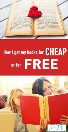 We homeschoolers love to collect great books, don't we? But, all those books can really add up. Especially if you have a houseful of kids (like I do). Here's how I'm getting those books for REALLY cheap... or even for free!