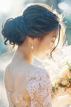Bridal Hairstyles : 24 Timeless Wedding Hairstyles For Medium Length Hair  See more: www.weddingf
