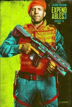 Os Mercenarios 3 Comic Con 2014 poster 1