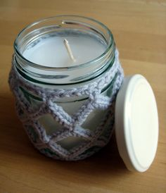 If you have been wondering what happened to the last in my series of jar candle covers, the wait is over! This would have been up sooner, but I thought it was worth interrupting the series for las...