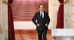 """Hollande propone un gobierno económico para la zona euro El presidente francés decide pasar a la ofensiva en Europa con un programa de cuatro puntos Es hora de dar un nuevo impulso a la UE y debo liderar este reto"""", afirma      Un año aislado en El Elíseo"""