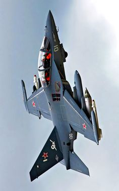 Most probably the fast/advanced jet trainer Jet Fighter Pilot, Air Fighter, Fighter Jets, Luftwaffe, Airplane Fighter, Fighter Aircraft, Military Jets, Military Weapons, Military Box