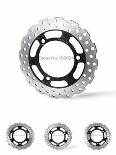 [Visit to Buy] Drilled Rear Brake Disc Rotor for Kawasaki Ninja 250R ABS 2008 2009 2010 2011 2012 Motorbike Rear Brake Disc Rotor #Advertisement