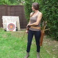 English Longbow, Weapon Of Mass Destruction, Natural Women, Sport Girl, Archery, Drill, Arrow, Woods, Nature
