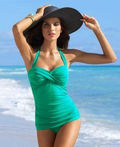 Jantzen Swimsuit, Vamp One Piece Women's Swimsuit - Swimwear