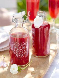 Easy-Peasy-Sommerdrink: HIMBEERLIMES selber machen