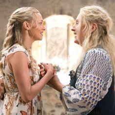 Mamma Mia, Big Braids, Twist Braids, Meryl Streep, Iconic Movies, Good Movies, Does Your Mother Know, Big Twist, Wavy Hair