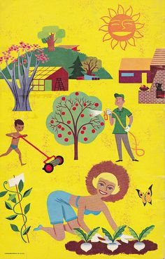 Ortho Garden Digest Back Cover 1954