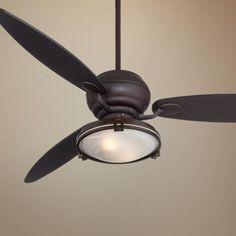 "60"" Spyder™ Espresso Ceiling Fan with Light Kit - $369.99 (n/a Prime @ amazon.com)"