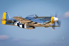The P-51 Mustang! World War II most celebrated fighter!