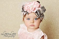 Wild About You Cheetah Pink Headband- Trendy Girls Headbands- LollipopMoon.com only $34.95 - Hair Accessories