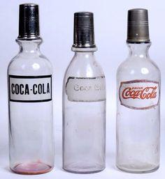 Old coke bottles 1900-1920