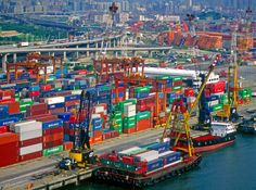 Kwai Tsing Container Terminals, Kwai chung, New Territories