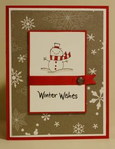 Snowy Winter Wishes by rbright - Cards and Paper Crafts at Splitcoaststampers