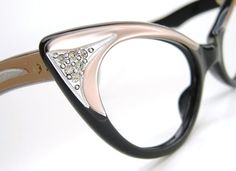 Vintage Pink Cat eye Glasses Sunglasses by Vintage50sEyewear, $138.00