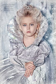 Little Snow Princess Little Girl Princess Dresses, Disney Princess Dresses, Snow Queen, Ice Queen, Toddler Fashion, Kids Fashion, Cute Girl Image, Glitz Pageant, Queen Costume