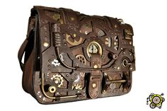 Steampunk Bag Ultimate DIY Guide! Bring your own unique and beautiful Steampunk Bag to life with our Steampunk Bag Ultimate DIY Guide. This incredibly detailed guide features easy to follow steps within a FORTY page PDF and over 20 minutes of HD Step by Step footage. We also made sure to use materials you can easily find at any craft store near you.
