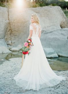 This Texas wedding inspiration shoot is romantic, ethereal, and simply beautiful. Created with a vision based on a romantic Pablo Neruda quote, it encompasses so much beauty in every detail. From the bride's enchanting and fairytale like BHLDN Beau gown to the vintage engagement ring from Trumpet and Horn, the fashion, florals and setting all […]