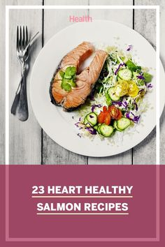 Salmon - it's good for your skin, your heart, and your brain! Here are four ways to keep it interesting for future dinner ideas. #salmonrecipe #hearthealthy #healthyrecipes Healthy Salmon Recipes, Good Healthy Recipes, Healthy Food, Crab Cake Recipes, Seafood Recipes, Roasted Salmon, Baked Salmon, Smoked Salmon Pizza